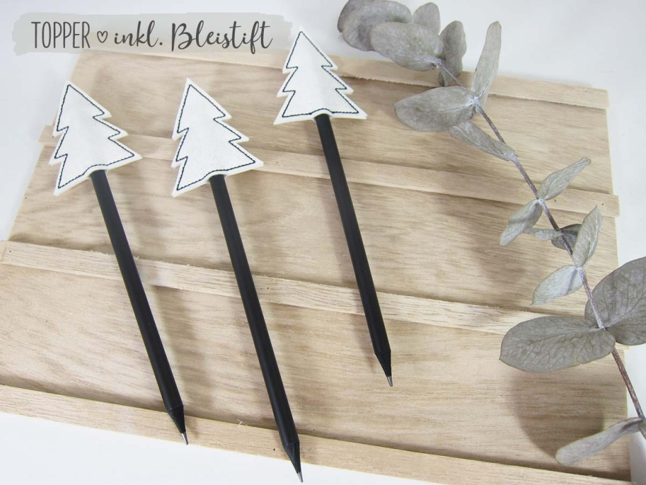 "Pencil Topper ""Baum"" inkl. Bleistift"