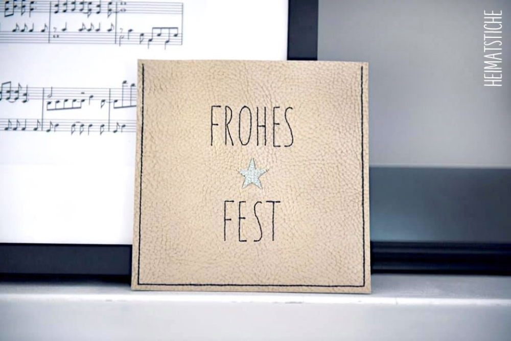 "ITH - Geschenkhülle ""Frohes Fest"""