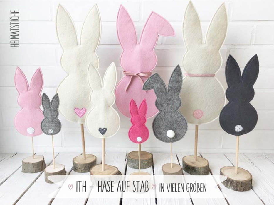 ITH - Hase auf Stab